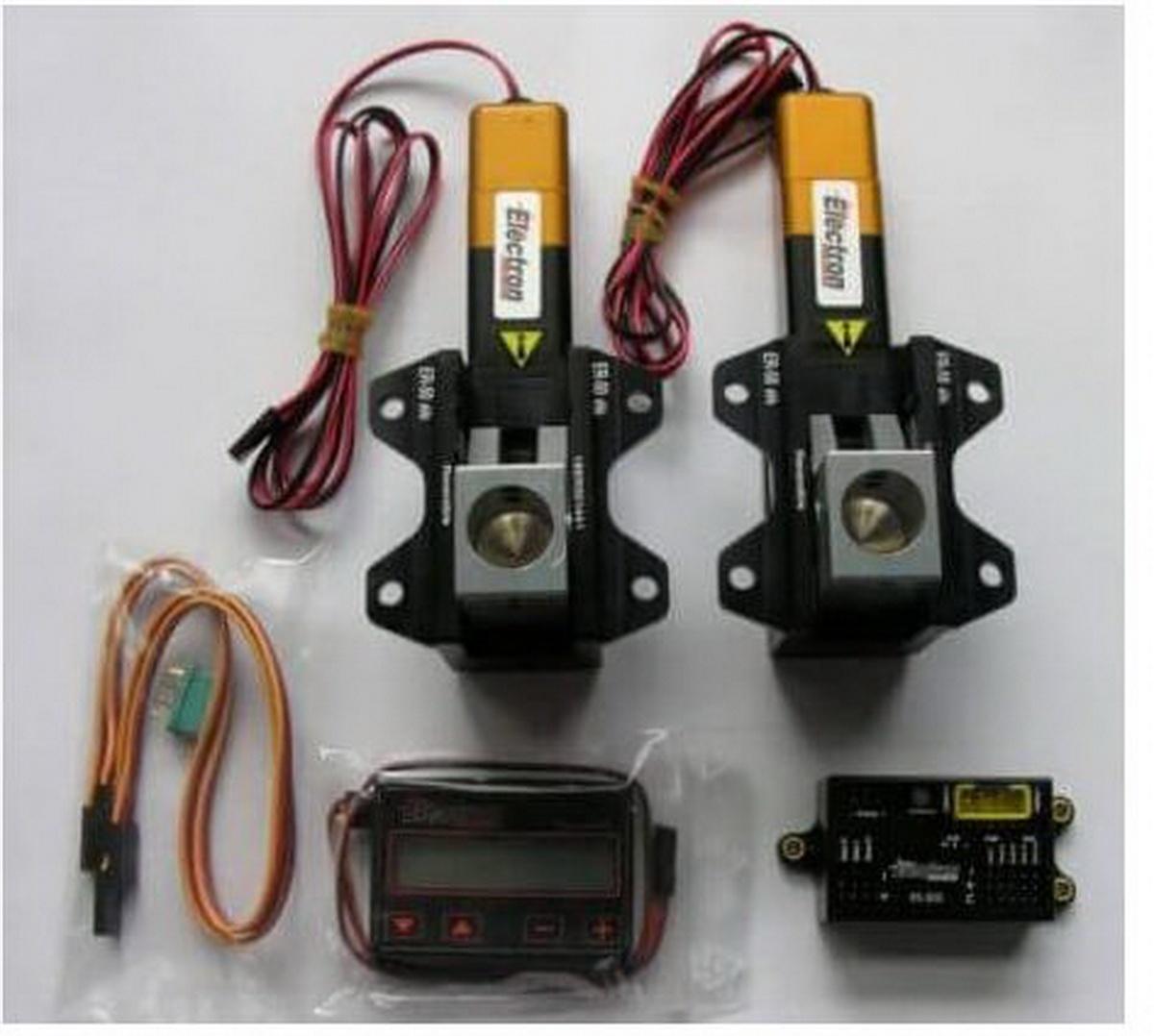 Einziehfahrwerk ER-50 eVo 2-Bein Elektronik RS-200 plus