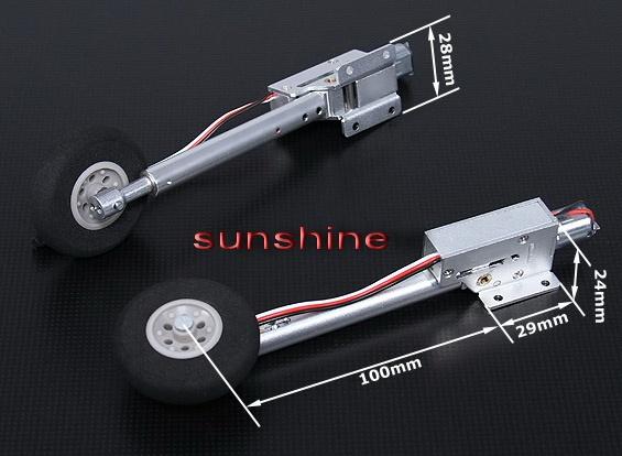 Einziehfahrwerk 2-Bein Elektrisch 90 Grad