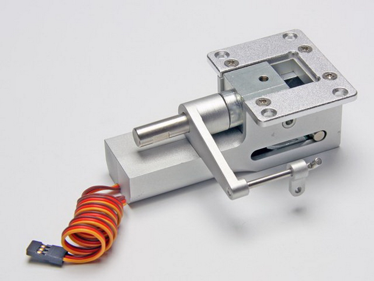 Einziehmechanik elektrisch Bug lenkbar Alu