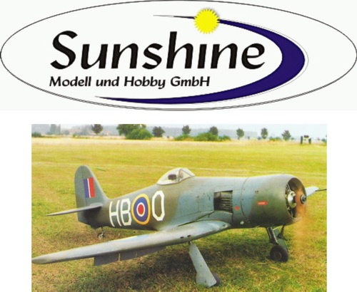 Modell Hawker Sea Fury