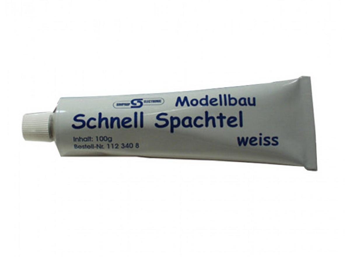 Modellbauspachtel weiß