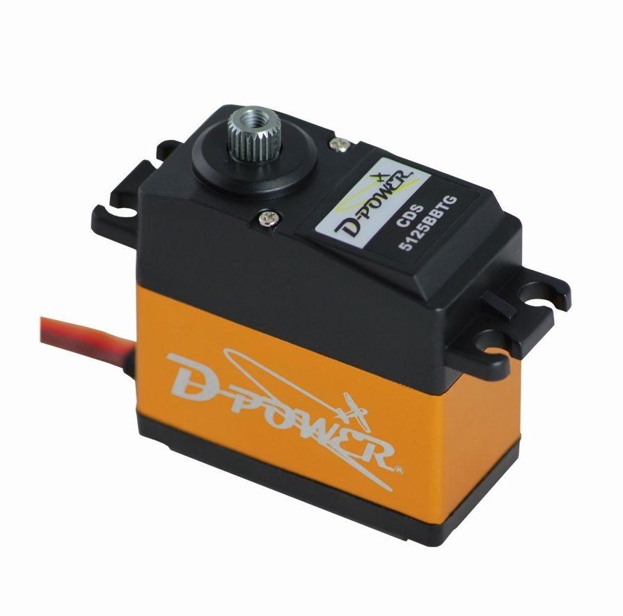 D-Power CDS-5125BB TG Servo Standard