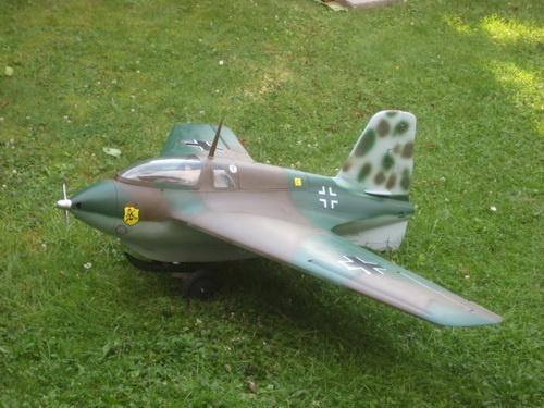 Lackierpreis Me 163 B 1a Lackierung Tarnfarbe M 1:6