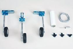Pneumatisches Dreibeineinziehfahrwerk bis 7,8kg