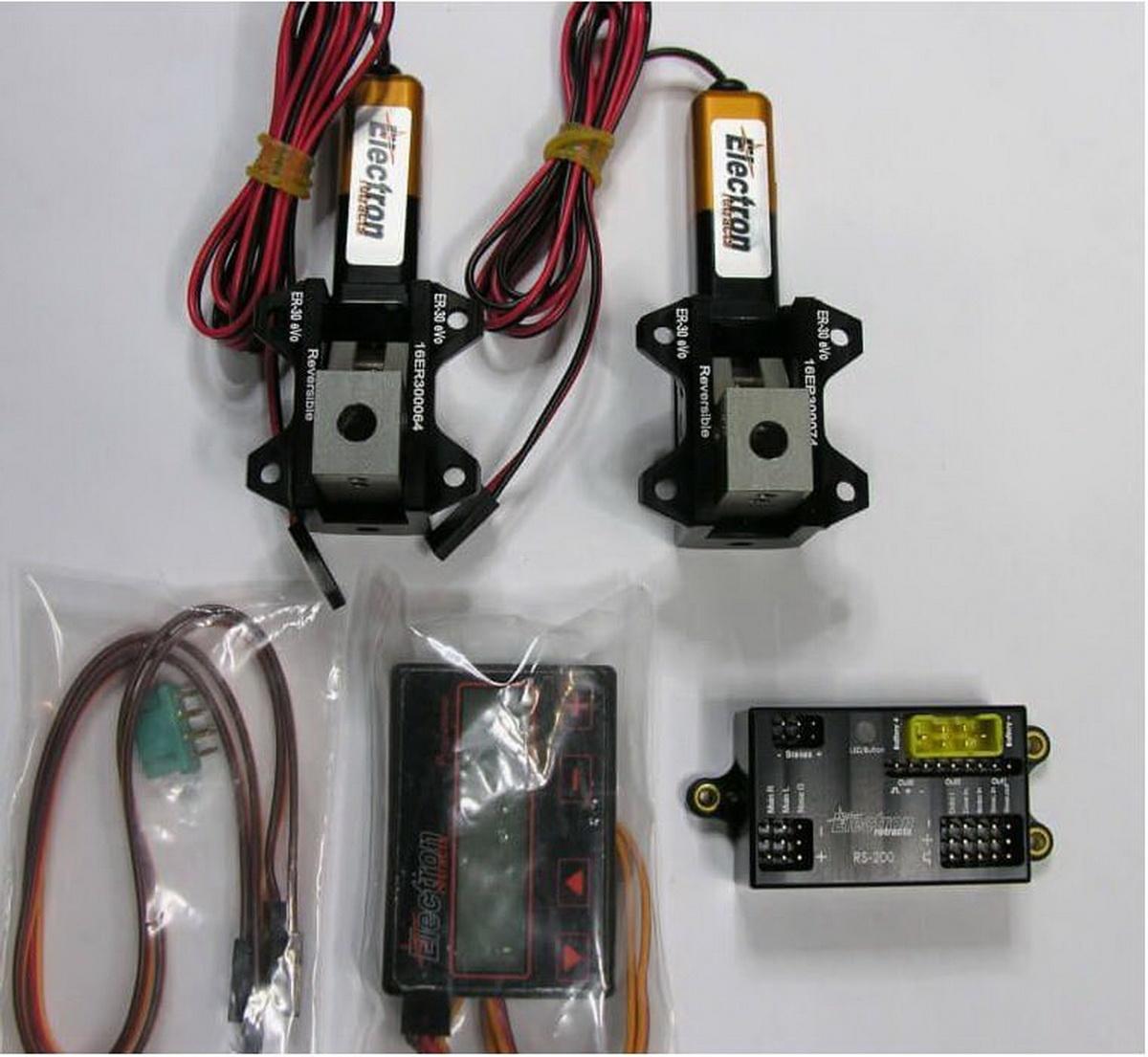 Einziehfahrwerk ER-30 eVo 2-Bein Elektronik RS-200 plus