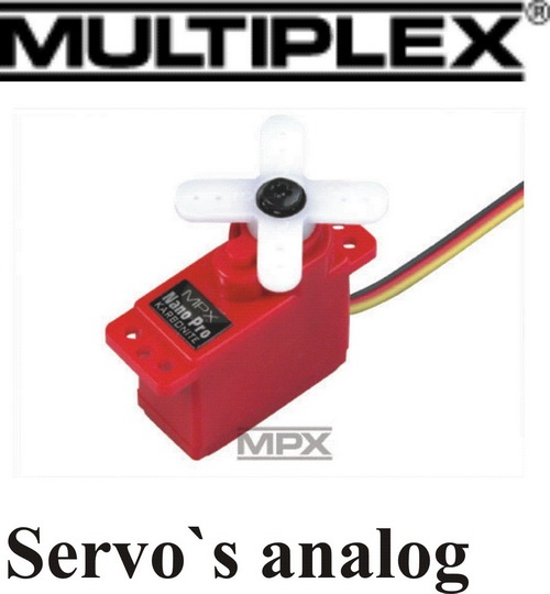 Analogservos MPX