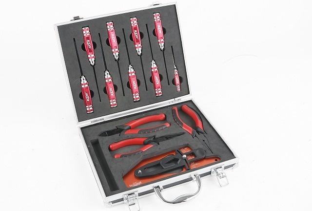 Werkzeugkofferset Heli für 550-700