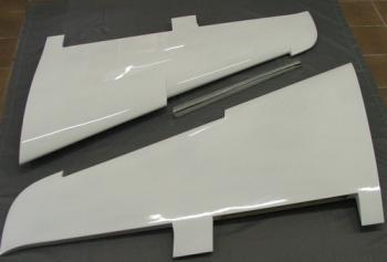 GFK-Tragflächensatz Me 163 M 1:3,3