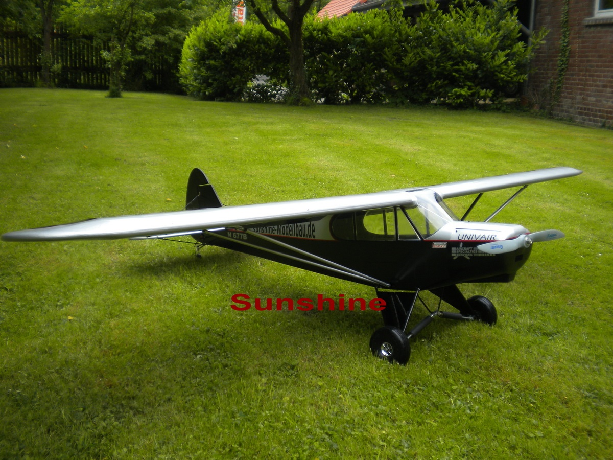 Piper PA-18 Super Cup Voll-GFK  Spw.2800 mm
