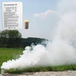 Rauchpatrone AX-9 weiß