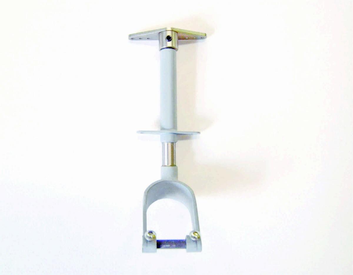 Spornrad lenkbar, gefedert Rad bis 60 mm
