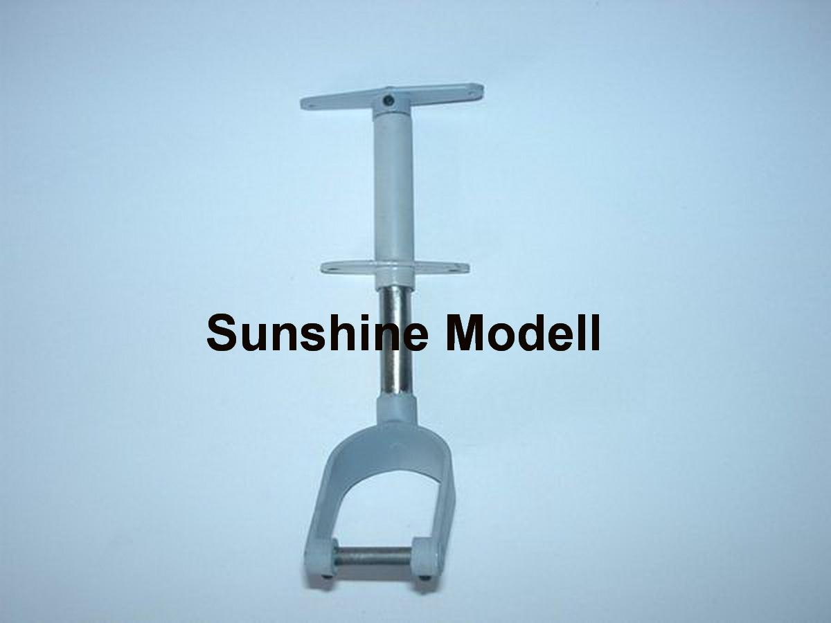 Spornrad lenkbar, gefedert, Rad bis 50 mm