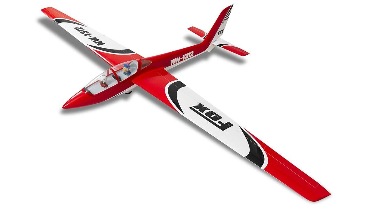 FOX - 215 cm Scale Segler voll-GFK ARF