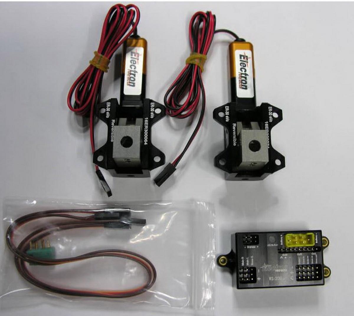 Einziehfahrwerk ER-30 eVo 2-Bein Elektronik RS-200