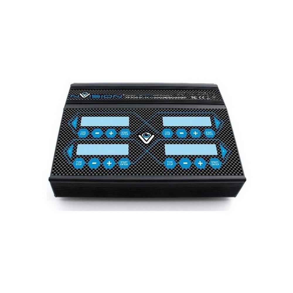 nVision Ladegerät 200WQuad AC/DC 6S