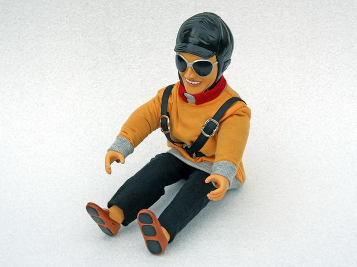 Pilotenpuppe Ben (gelb)