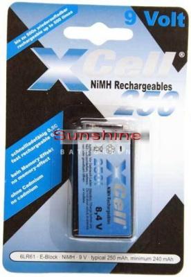 XCell  X250E-Block  9-Volt Block