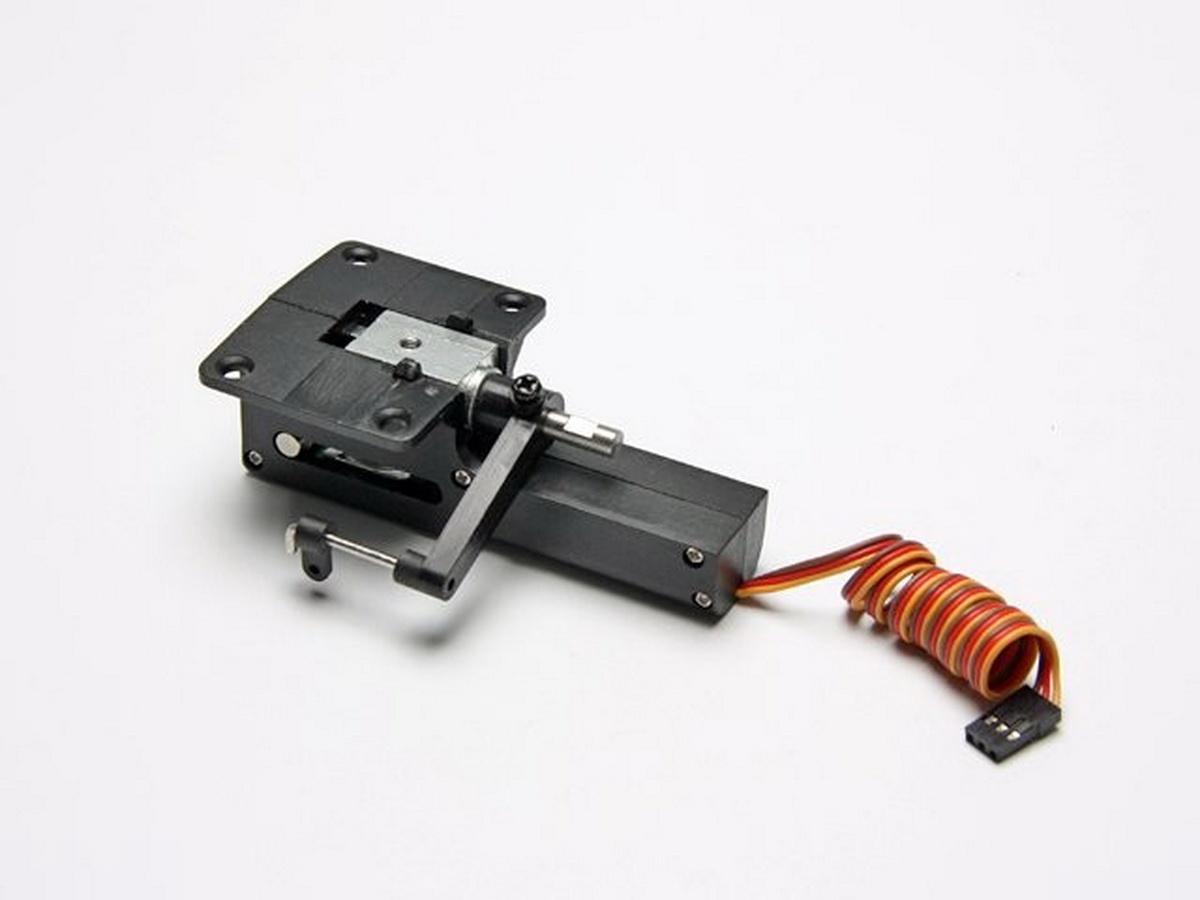 Einziehmechanik elektrisch Alu/Kunststoff lenkbar