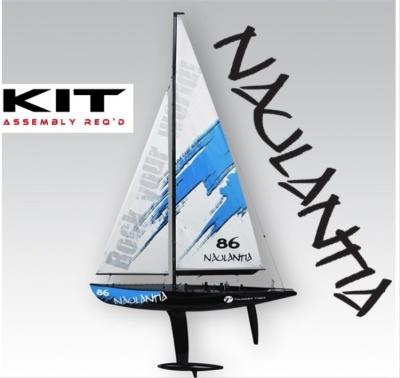 Racing-Segel-Yacht NAULANTIA 1:25