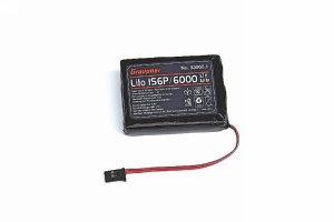 Senderakku flach Li 1SxP/6000 3,7V TX