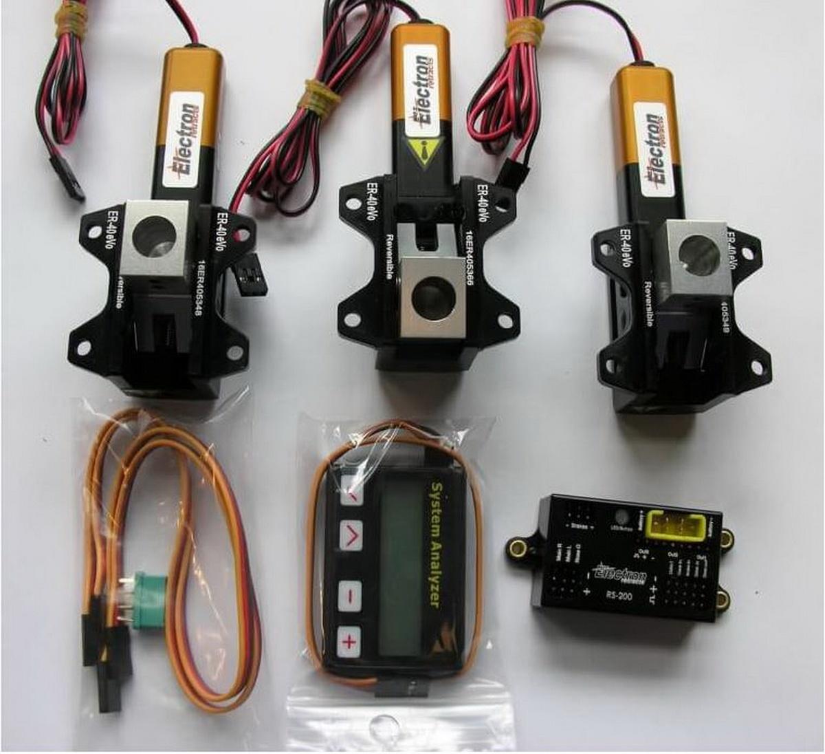 Einziehfahrwerk ER-40 eVo 3-Bein Elektronik RS-200 plus