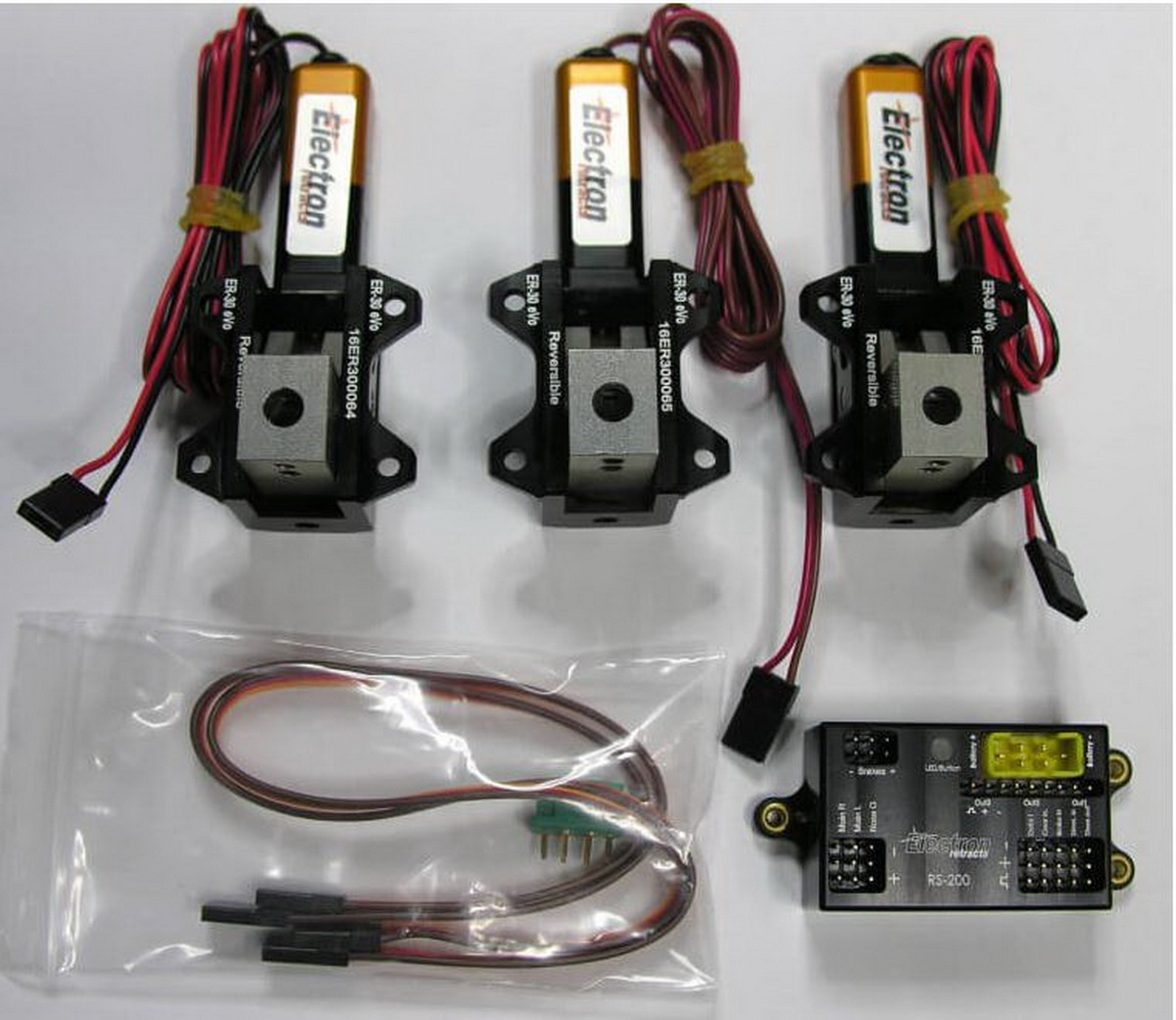 Einziehfahrwerk ER-30 eVo 3-Bein Elektronik RS-200