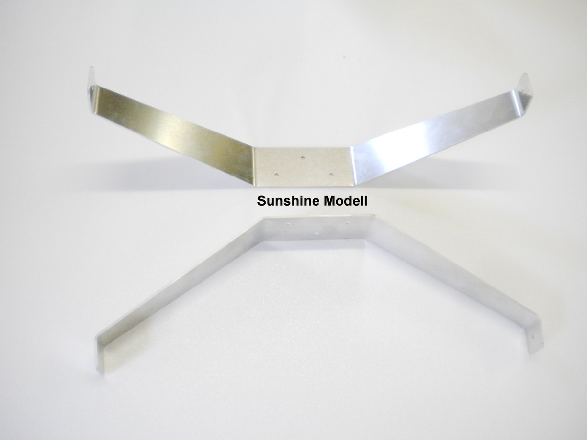 Hauptfahrwerk ALU 2mm