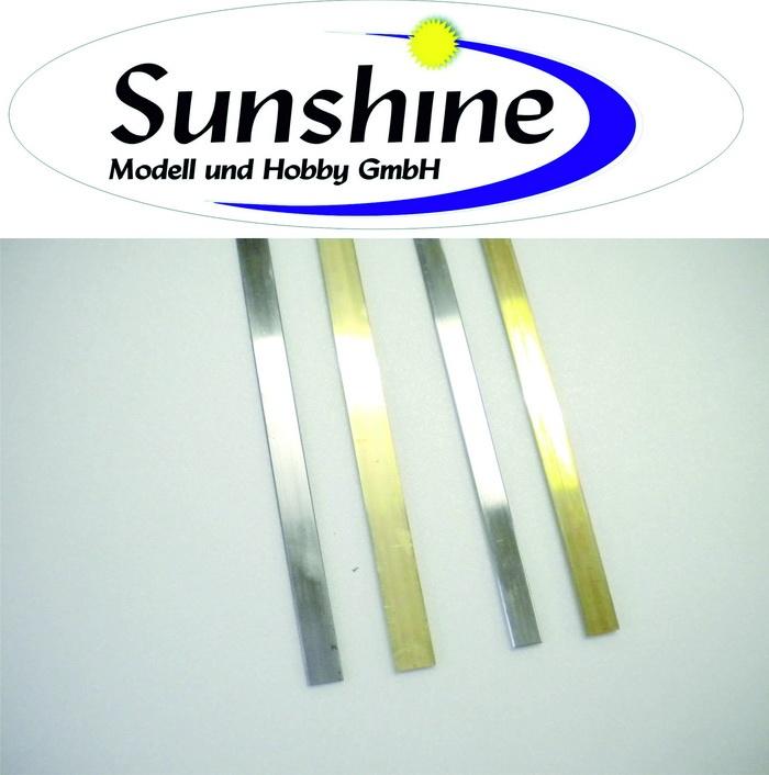 Flachsteckungen Stahl/Messing