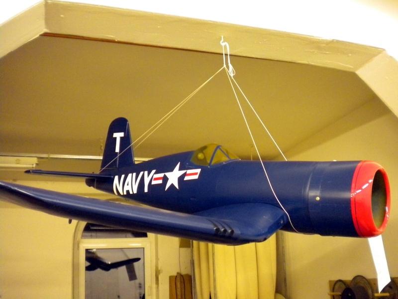 Fertigmodell Corsair Voll-GFK