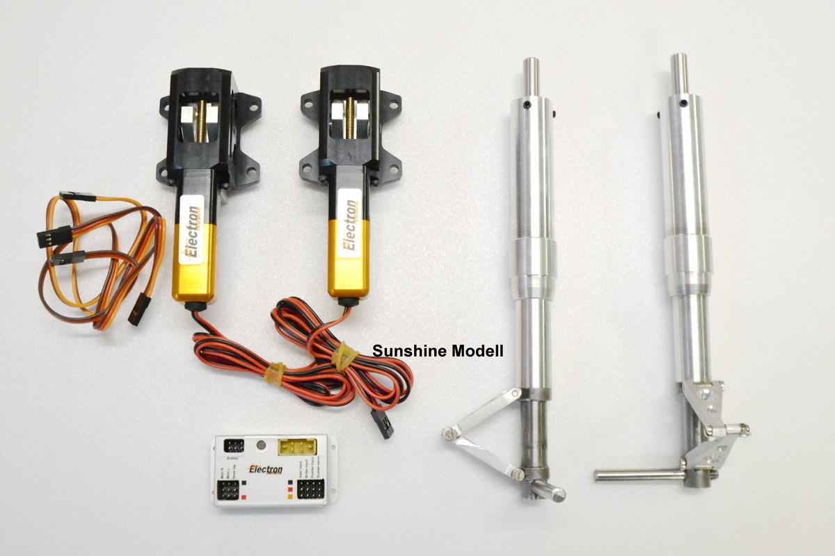 Einziehfahrwerk  Mig 3 elektrisch