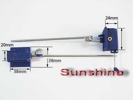 Einziehfahrwerk 2-Bein 3,5mm mechanisch