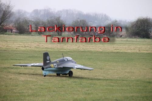 Lackierpreis Me 163 B 1a  Tarnfarbe M 1:3,5