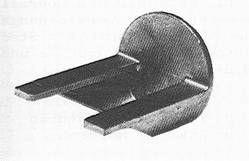 Motorträger- Alu 3,5 ccm