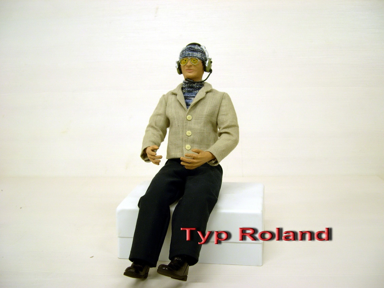 Pilotenpuppe Sportpilot M 1:4