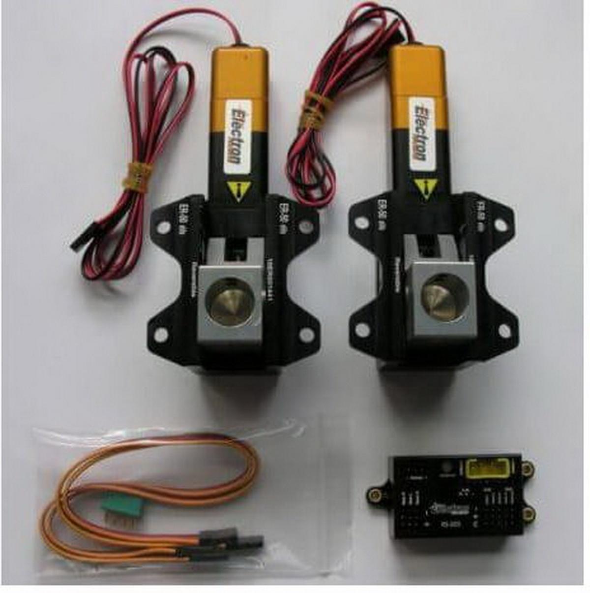 Einziehfahrwerk ER-50 eVo 2-Bein Elektronik RS-200