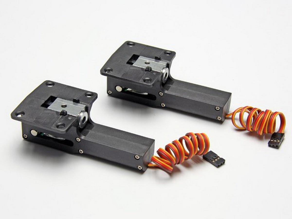 Einziehmechanik elektrisch Alu/Kunststoff