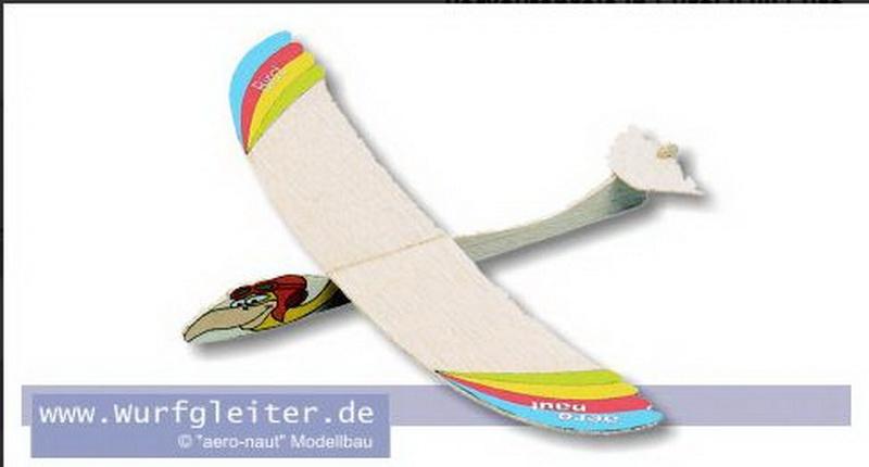 BIRD Balsa- Wurfgleiter