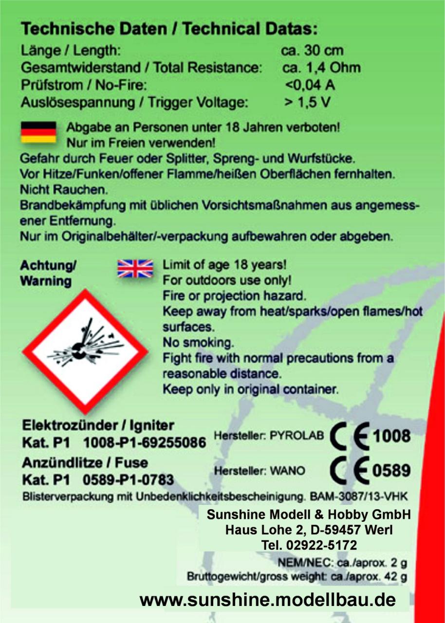 Elektroanzünder f. AX-18