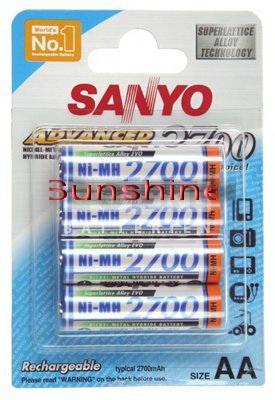 Sanyo HR-3U-4BP-2700 Mignon