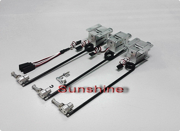 elektrisches Einziehfahrwerk 3-Bein